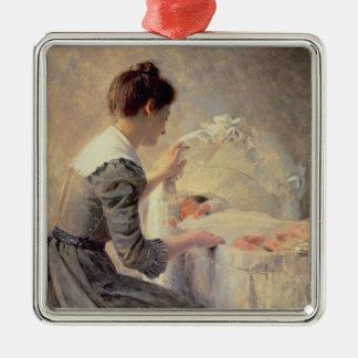 Motherhood 1898 christmas ornament