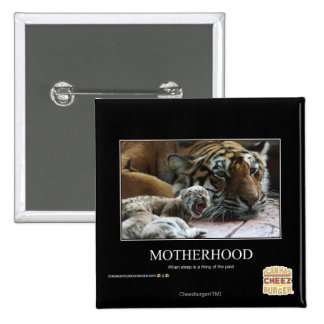 Motherhood 2 Inch Square Button