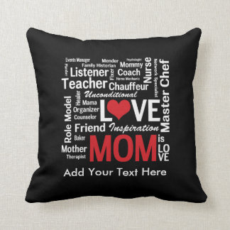 Motherhood - All the Amazing Things Mothers Do Throw Pillow