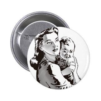 Motherhood Pinback Button