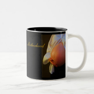 Motherhood by Barbara Sklar Two-Tone Coffee Mug