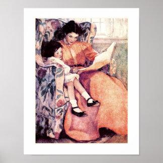 Motherhood by Jessie Willcox Smith Poster
