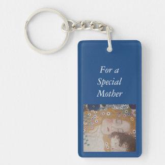 Motherhood Double-Sided Rectangular Acrylic Keychain
