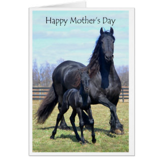 Motherhood: Happy Mother's Day with writing Card