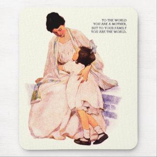 Motherhood. Mother's Day Gift Mousepads