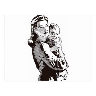 Motherhood Postcard