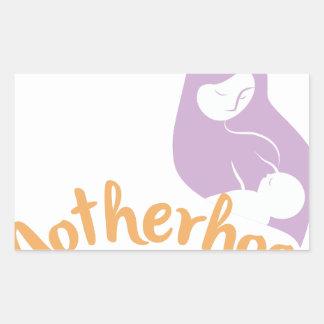 Motherhood Rectangular Sticker
