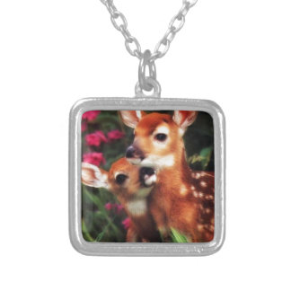 Motherhood Silver Plated Necklace