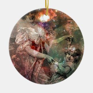 MOTHERHOOD THE WAY OF THE UNIVERSE jpg Christmas Tree Ornaments