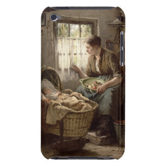 Motherly Affection (oil on canvas) Case-Mate iPod Touch Case