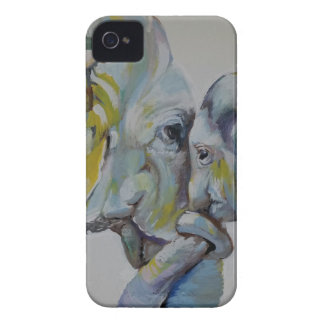 Motherly Elephant iPhone 4 Cover