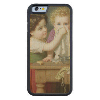 Motherly Instinct, 1872 Carved Maple iPhone 6 Bumper Case