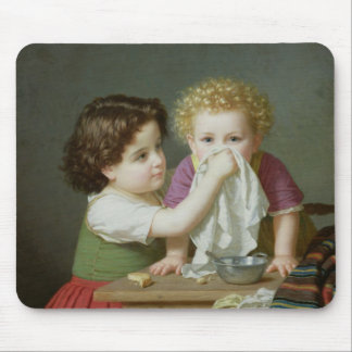 Motherly Instinct, 1872 Mouse Pad