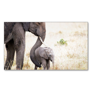 Motherly love business card magnet