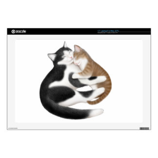 Motherly Love Cats Laptop Skin
