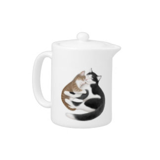 Motherly Love Cats Teapot