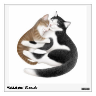 Motherly Love Cats Wall Decal