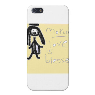 Motherly Love is Blessed! iPhone SE/5/5s Cover