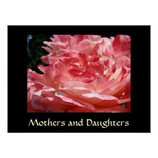 MOTHERS and DAUGHTERS Art Prints Roses Framed Posters
