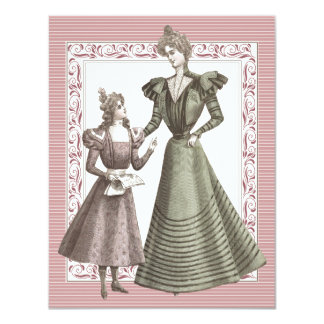 Mothers and Daughters Luncheon Card