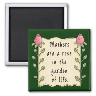 Mothers Are a Rose Magnet Refrigerator Magnets
