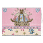 Mothers are Angels Assigned at Birth Greeting Card