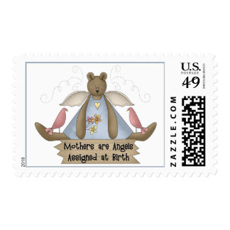 Mothers are Angels Assigned at Birth Postage