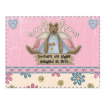 Mothers are Angels Assigned at Birth Postcard