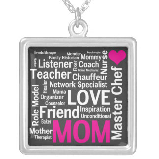 Mothers are Love and Inspiration and So Much More! Custom Necklace