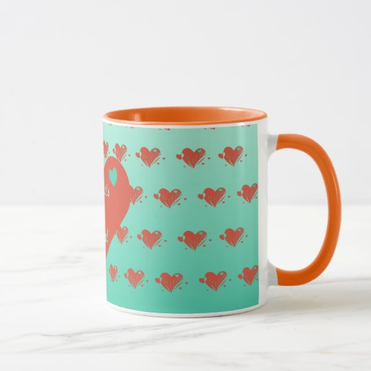 Mother's Are Special Heart Mug
