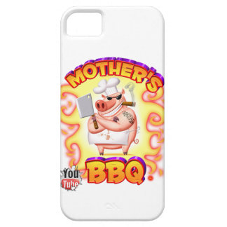 Mother's BBQ Iphone 5s Case W/Flames