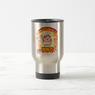 Mother's BBQ Thermal Mug w/Flames