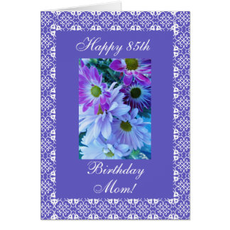 Mother's birthday daisies card