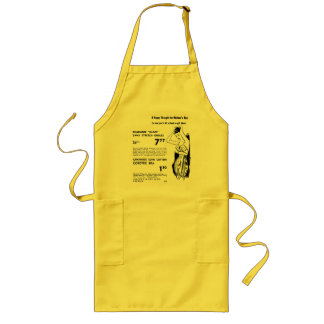 Mother's Day 1955 Girdles Ads Apron