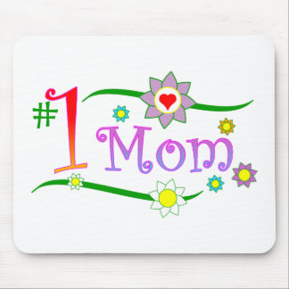 Mother's Day - #1 Mom - Mouse pad