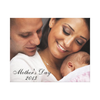 Mother's Day 2013 Family Portrait Canvas Print