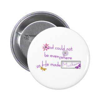 Mother's Day 2 Inch Round Button
