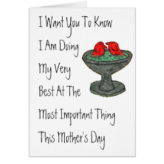 Mother's Day #5 Card
