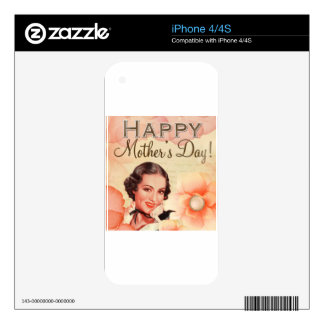 Mothers-Day #8 Skin For iPhone 4S