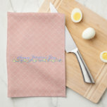 Mothers Day - ADD YOUR PHOTO - Spring Flowers Hand Towel