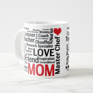 Mother's Day Amazing Multi-talented Super Mom Giant Coffee Mug