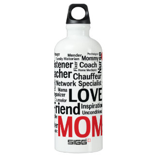 Mother's Day Amazing Multi-talented Super Mom SIGG Traveler 0.6L Water Bottle