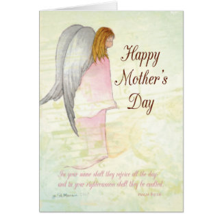 Mother's Day Angel Religious Card
