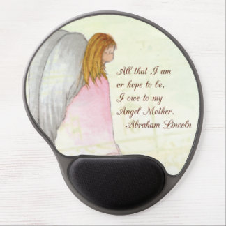 Mother's Day Angel Religious Gel Mouse Pad