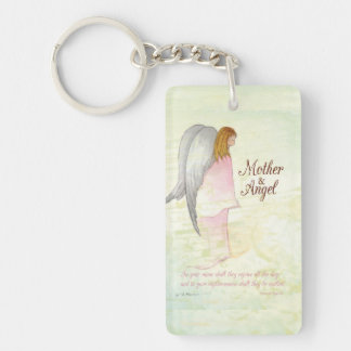 Mother's Day Angel Religious Keychain
