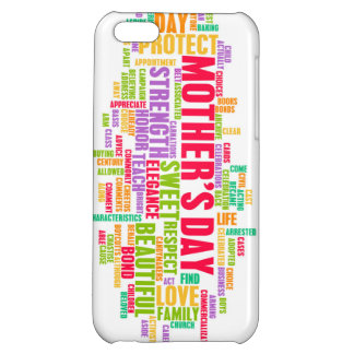 Mother's Day As a Special Day with Words iPhone 5C Cover