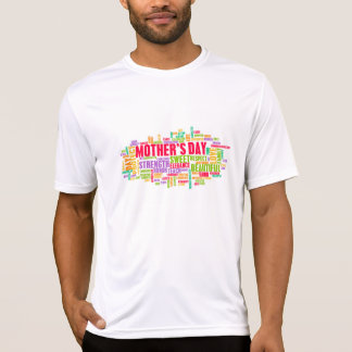 Mother's Day As a Special Day with Words T-shirt