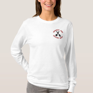 Mother's Day Baker Mom Embroidered T-Shirt