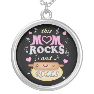 Mother's Day Baking & Rocking Mom Necklace