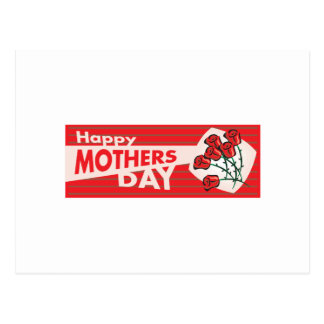 Mothers Day Banner Postcard